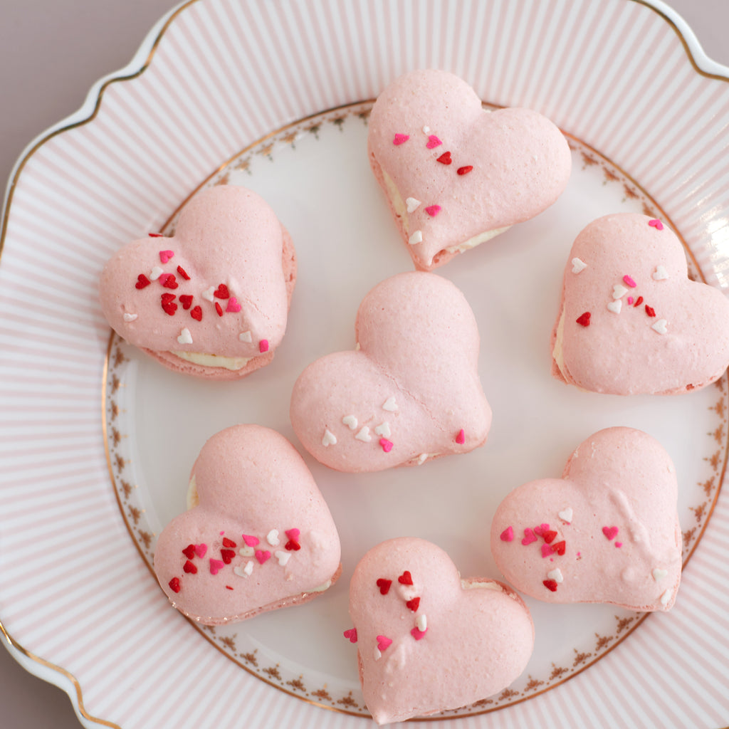 Heart Macarons - 6 Pack (GF)