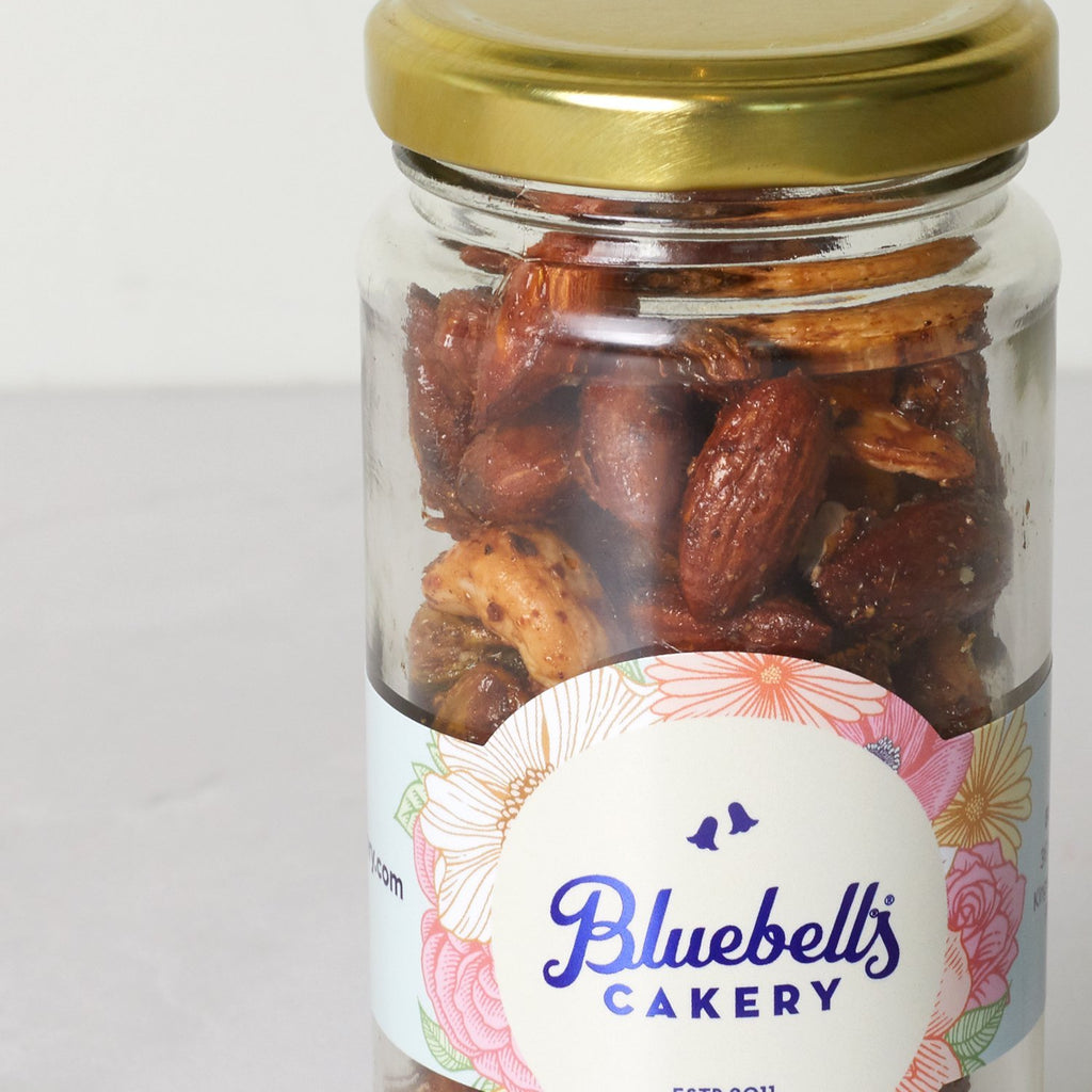 Jar - Spiced Nuts - Bluebells Cakery