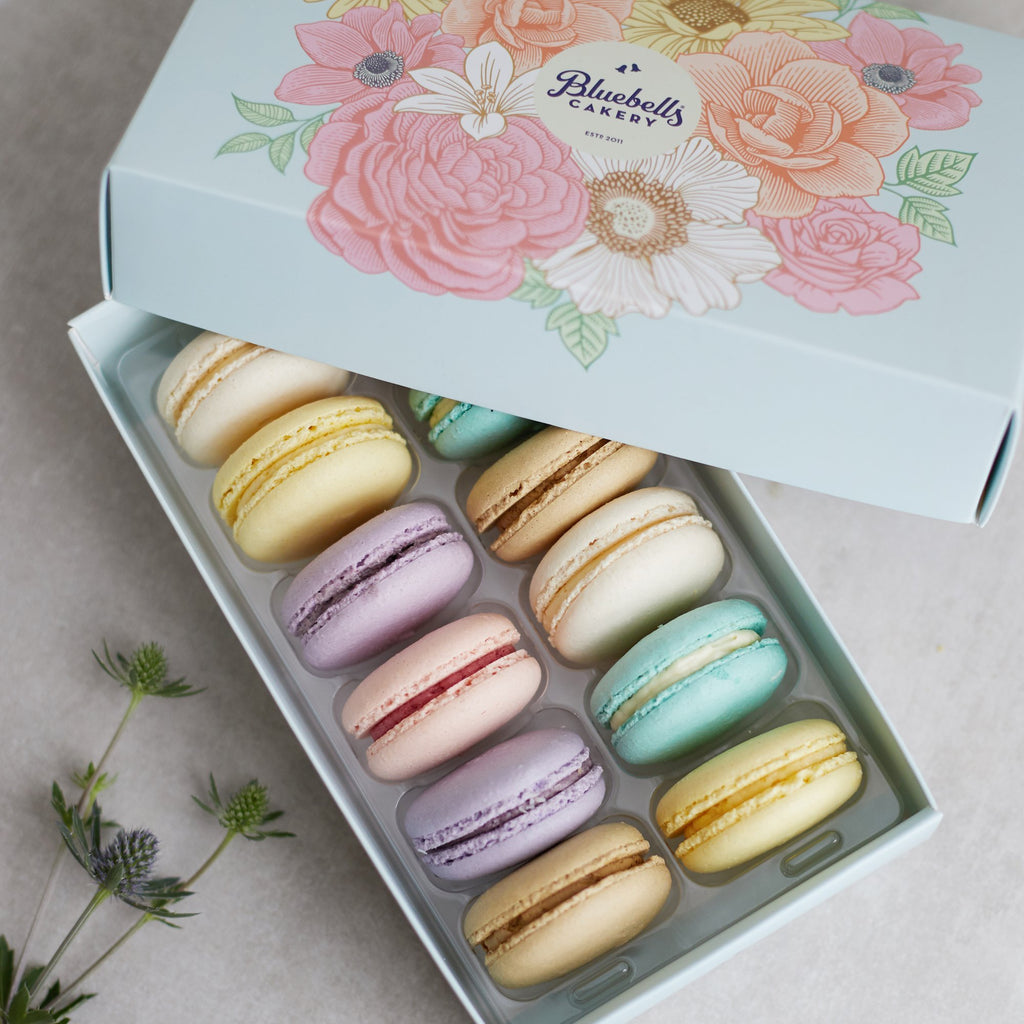 Macarons - 12 Pack (GF) - Bluebells Cakery