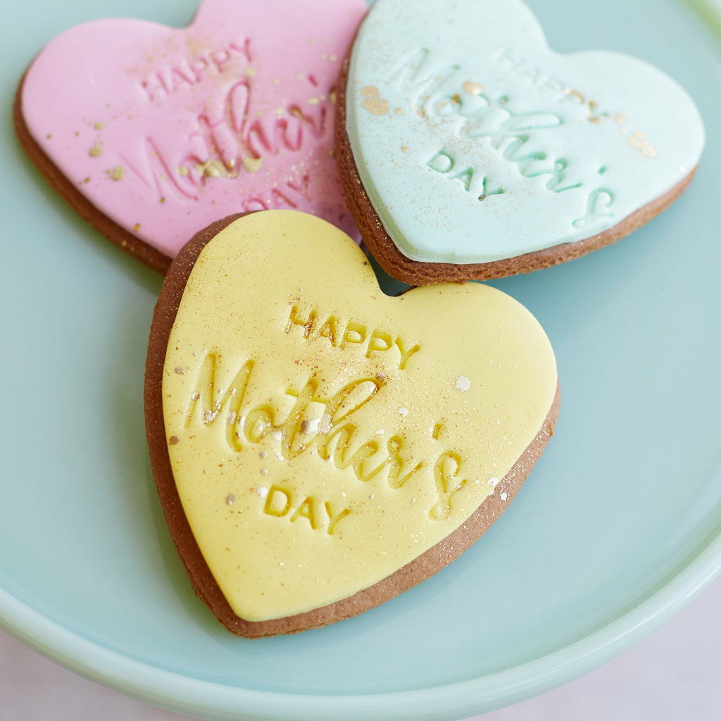 Mothers Day Gingerbread Cookies - Bluebells Cakery