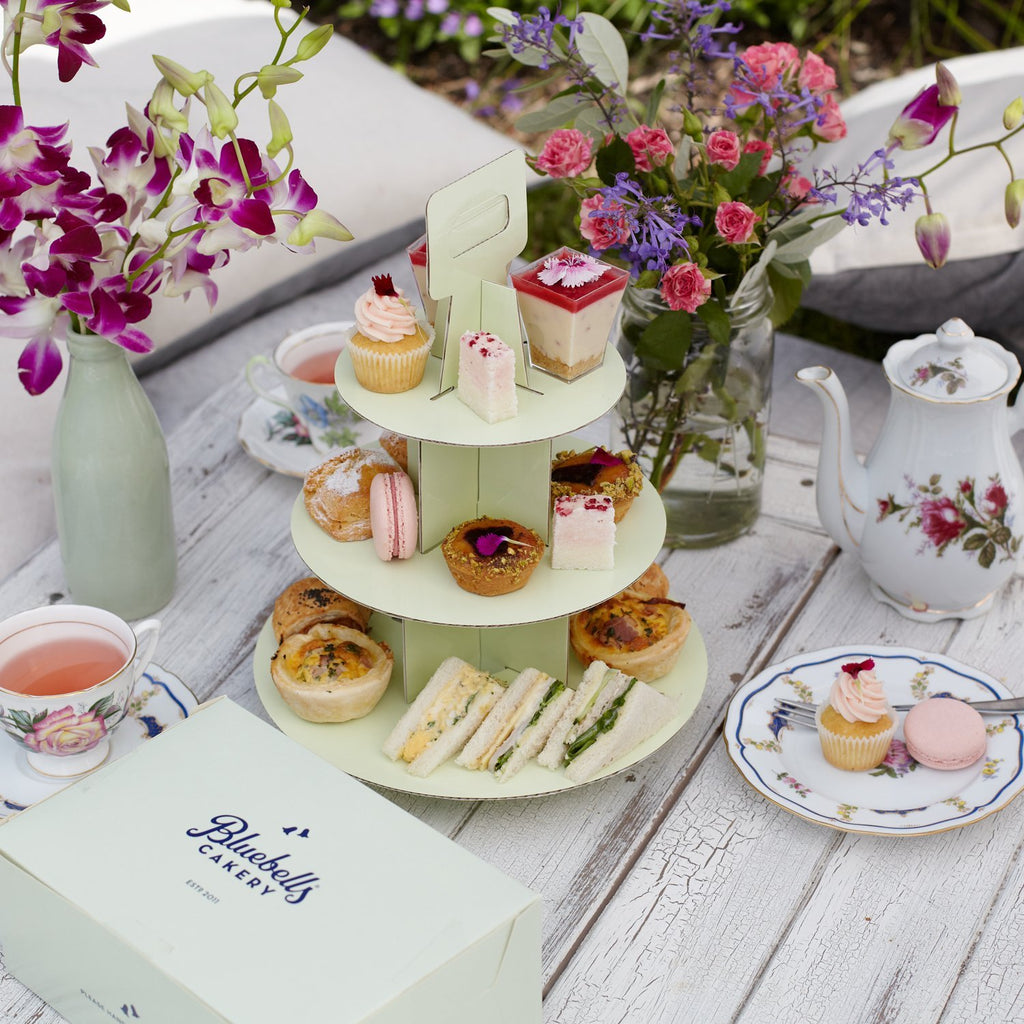 Takeaway High Tea - Bluebells Cakery