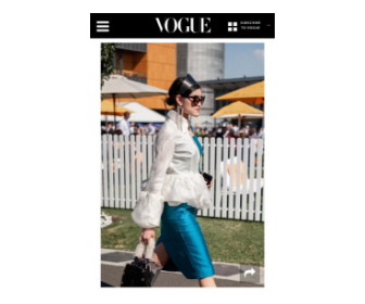 Vogue Australia: The best street style from Longines Queen Elizabeth Stakes Day 2019