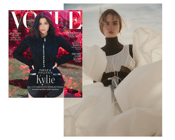 Vogue Australia. September Issue: Katya Komarova Double Belt Corset feature