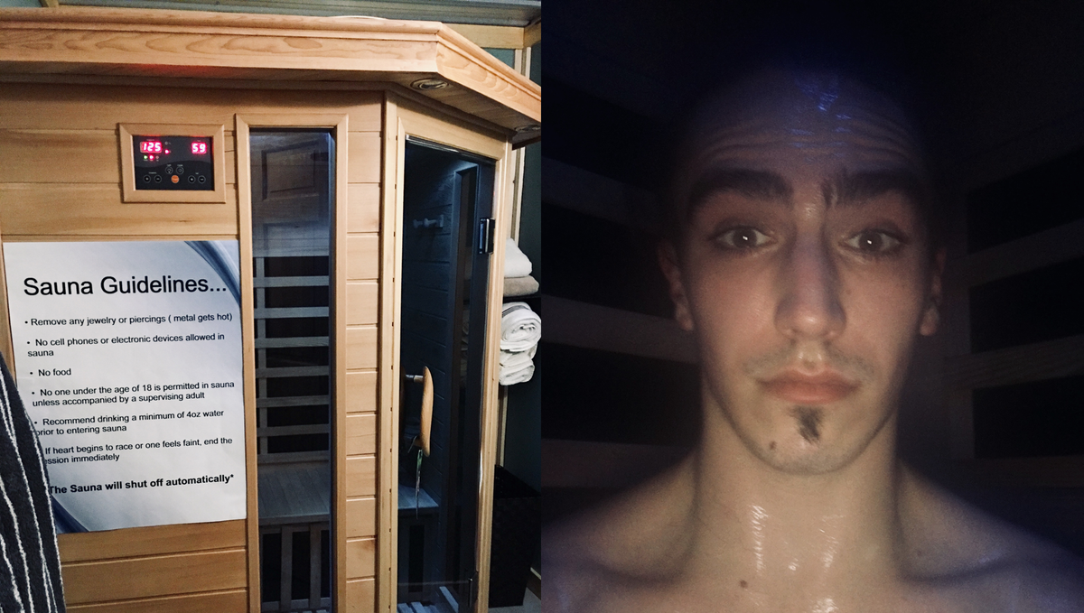 The Secrets of Sauna Sweat
