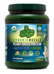 ORGANIC MEAL REPLACEMENT | PLANT-BASED PROTEIN + SUPERFOODS & GREENS
