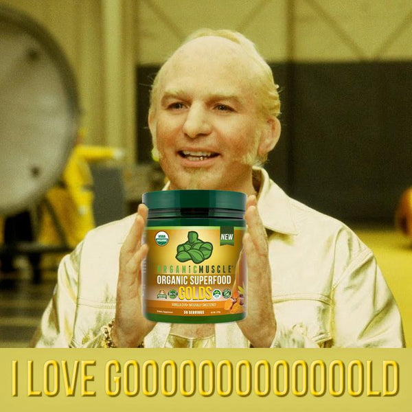 USDA Organic Superfood Golds - 30 Serv