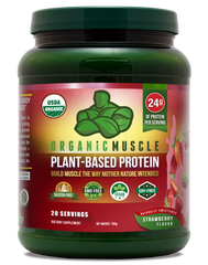 Organic Vegan Protein - Strawberry
