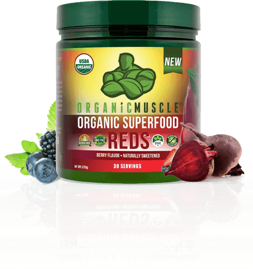 organic muscle red