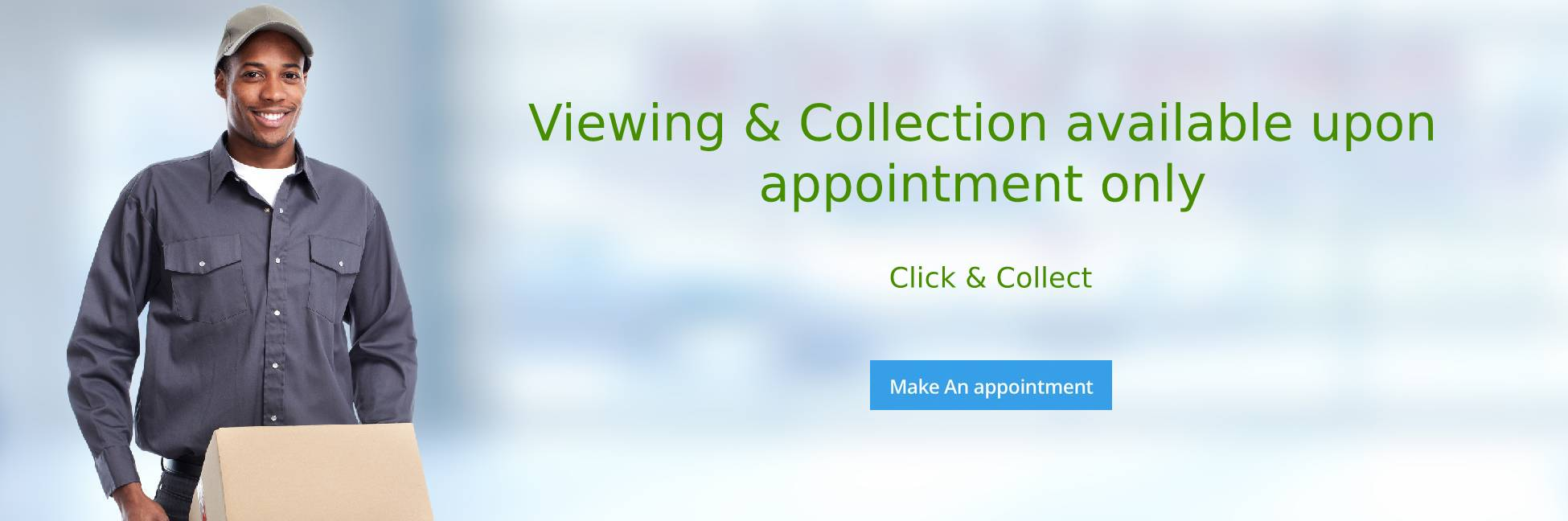 Viewing and Collection available upon appointment only
