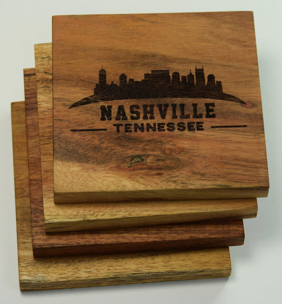 Nashville Tennessee Skyline Coasters