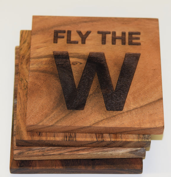 FLY THE W Coasters