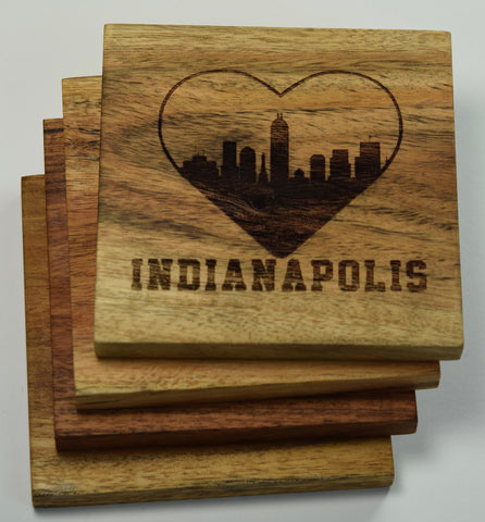 I Love Indianapolis Coasters