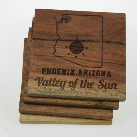 "Phoenix, Arizona ""Valley of the Sun"" Coasters"