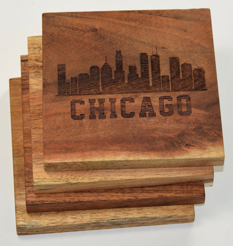 Chicago, Illinois Skyline Coasters