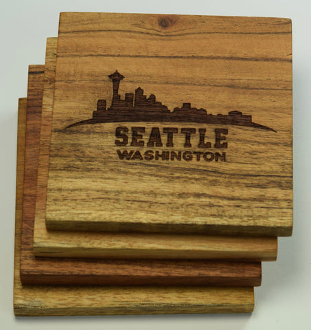 Seattle, Washington Skyline Coasters