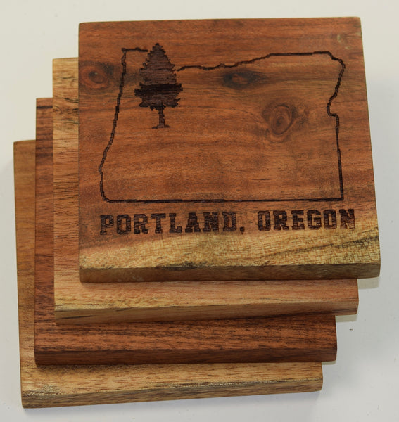Portland, Oregon Coasters
