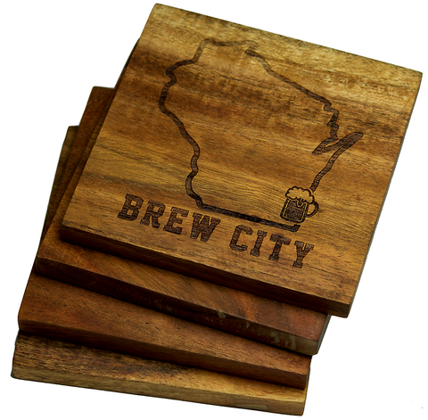 Milwaukee Wisconsin, Brew City Coasters