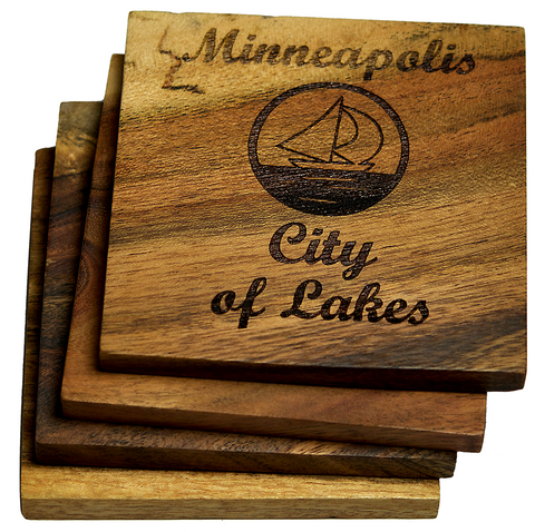 Minneapolis Minnesota City of Lakes Coasters