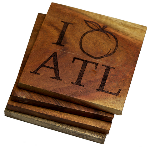 Atlanta Georgia Peach Coasters