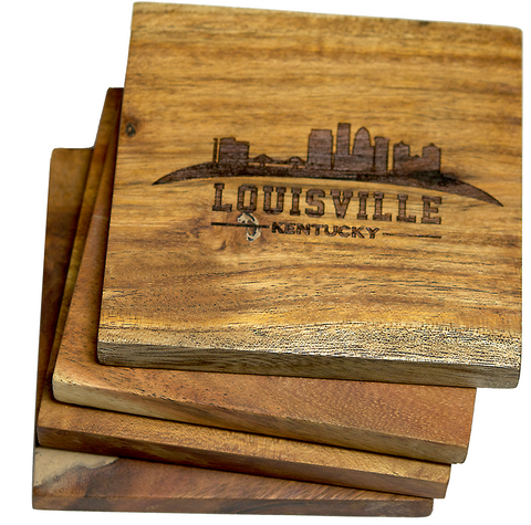 Louisville Kentucky Skyline Coasters