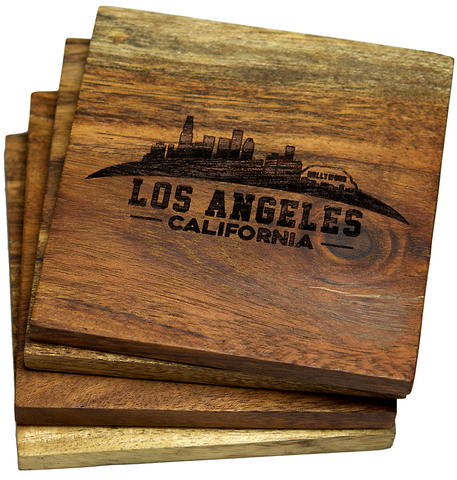 Los Angeles, California Skyline Coasters