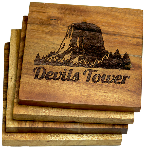 Devil's Tower Coasters (National Parks)