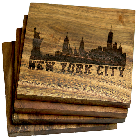 New York City Skyline Coasters