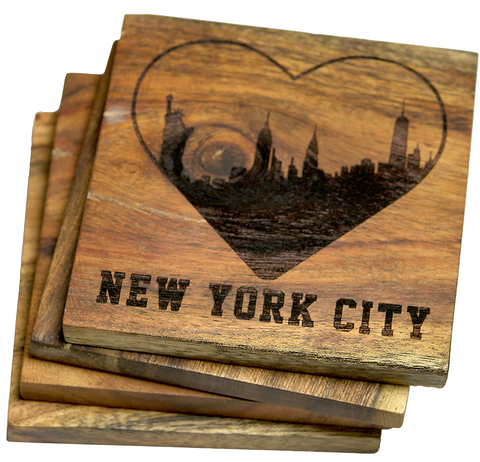 I Love New York City Coasters