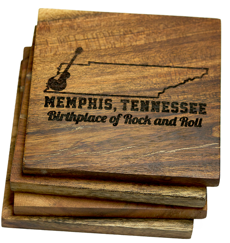 Memphis Tennessee Birthplace of Rock and Roll Coasters