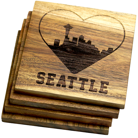 I Love Seattle, Washington Coasters