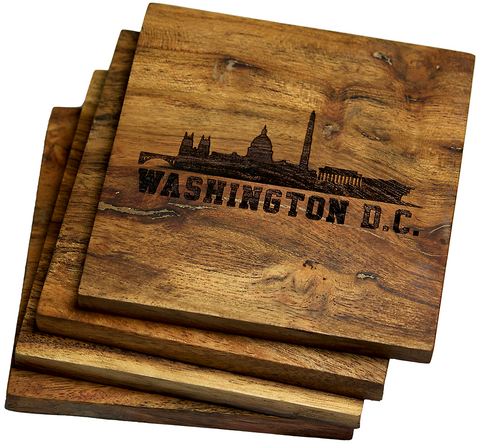 Washington DC Skyline Coasters