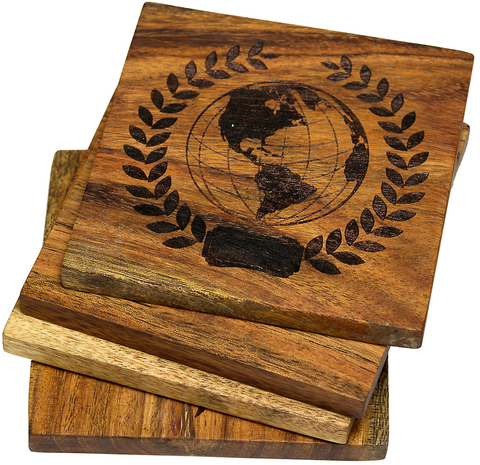 Globe Coasters (Nautical)