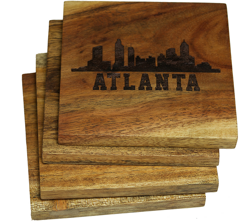 Atlanta Georgia Skyline Coasters
