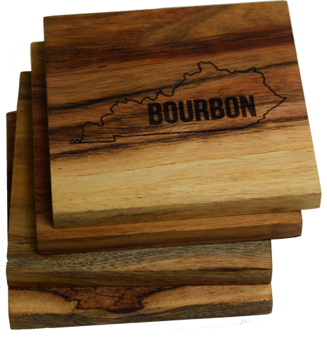 Kentucky Bourbon Coasters