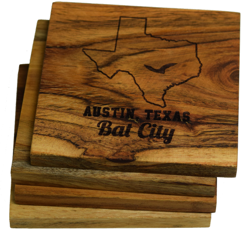 Austin Texas Bat City Coaster