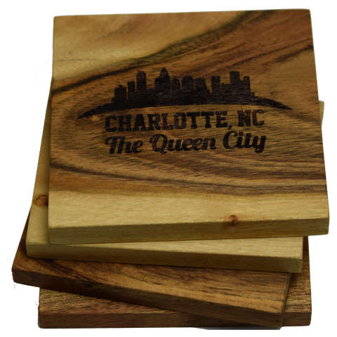 Charlotte North Carolina Skyline The Queen City Coasters