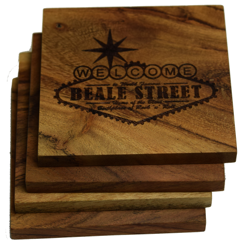 Beale Street Memphis Tennessee Coasters