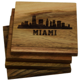 Miami Florida Skyline Coasters