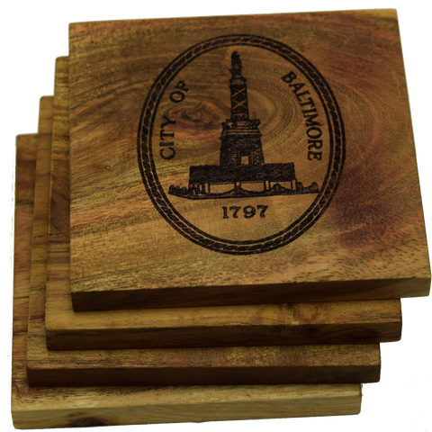 City of Baltimore Maryland 1797 Coasters