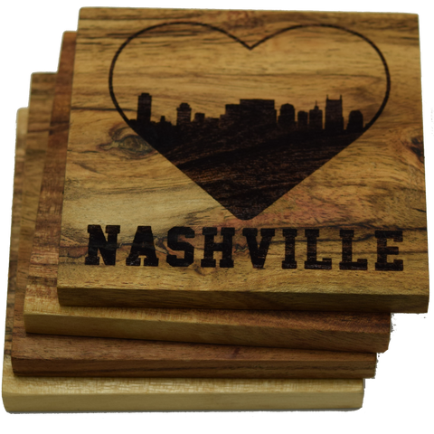 I Love Nashville Tennessee Coasters