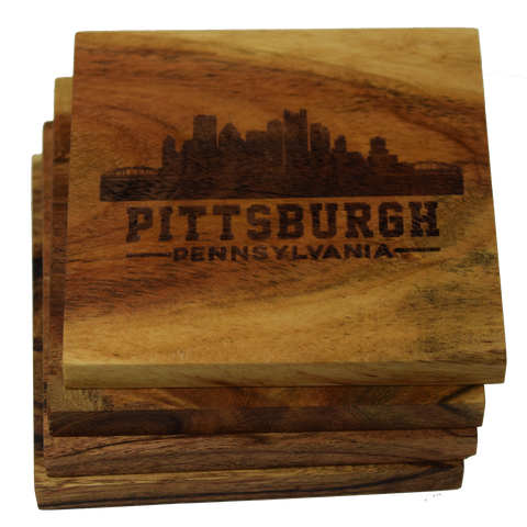 Pittsburgh Pennsylvania Skyline Coasters