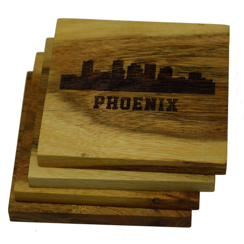 Phoenix Arizona Skyline Coasters