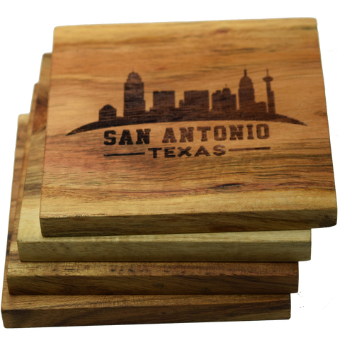 San Antonio Texas Skyline Coasters