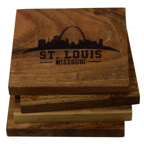 St Louis Missouri Skyline Coasters
