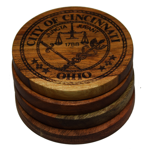 Cincinnati Ohio City Seal Coasters
