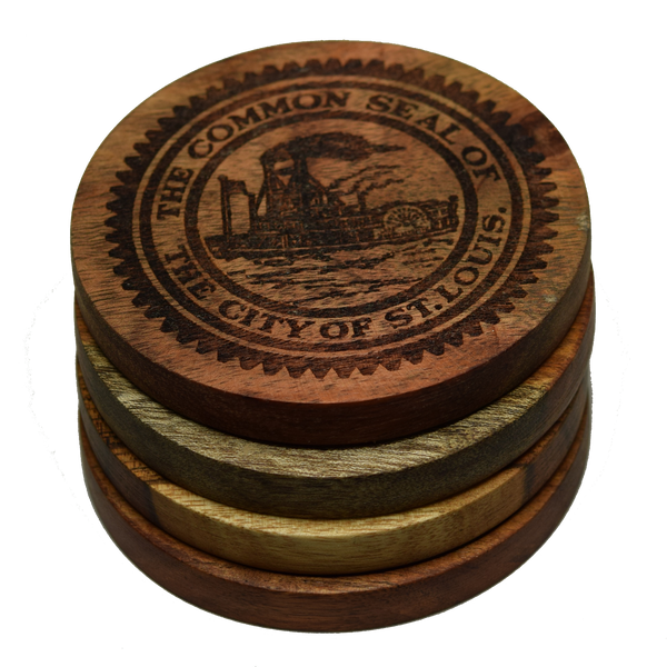 Seal of St Louis Missouri Coasters