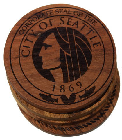 City Seal of Seattle, Washington Coasters