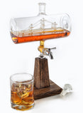Constellation1797 - 1150ml Glass Liquor/Wine Decanter (Version 2)