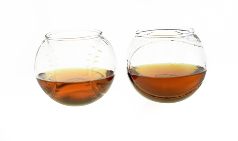 Baseball Shaped Whiskey Glass (Set of Two)