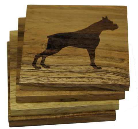 Boxer (Dog) Coasters